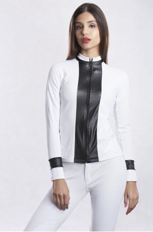 DIGNIFIED PIQUE Long Sleeve Show Shirt
