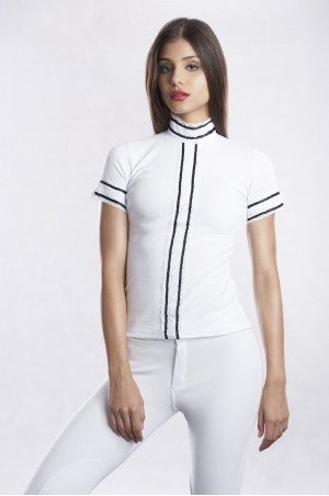 PURITY PIQUE Short Sleeve Show Shirt