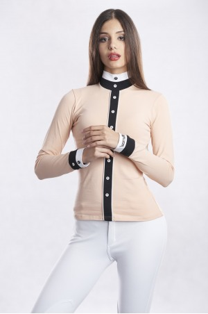 MILD CHARM Long Sleeve Show Shirt
