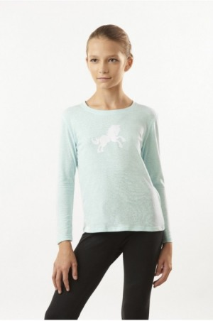 SNOW WHITE Long Sleeve Slim FitTop