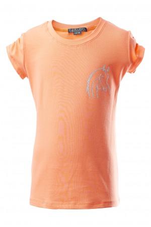 161-240101 GLITTER BEAUTY Short Sleeve Top