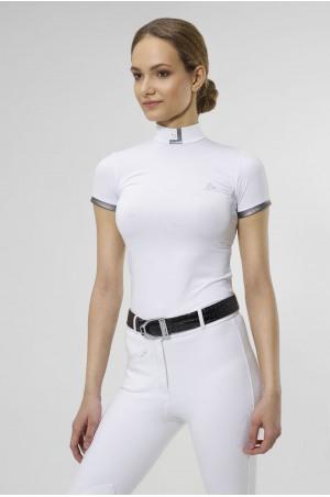 SILVERY TECHNICAL Short Sleeve Show Shirt
