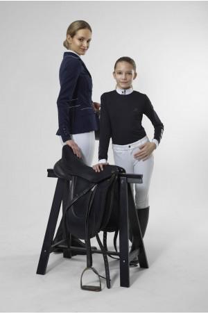 SILVERY TECHNICAL Long Sleeve Show Shirt