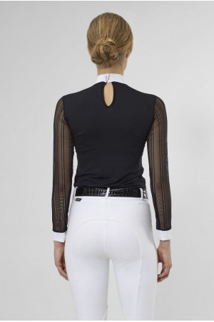 CONTESSA TECHNICAL Long Sleeve Show Shirt