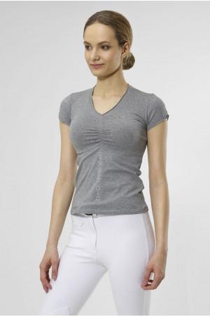 CRYSTAL BITS Short Sleeve Top