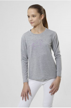 LOVELY PONY ROSE Long Sleeve Top