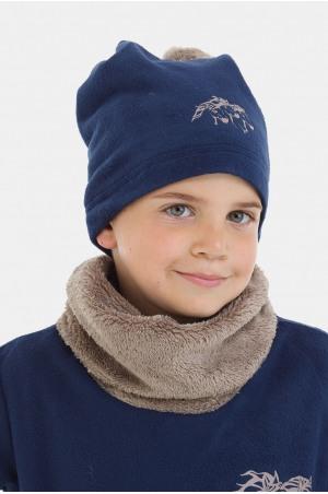 182-202510 Cosy Riding Pom-Pom Hat for Kids - IVY, Equestrian Apparel