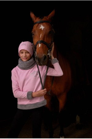 Cosy Riding Sweater for Kids - IVY, Equestrian Apparel
