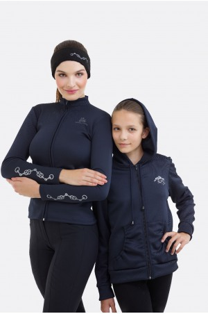 Riding Jacket for Kids - IVY, Softshell, Technical Equestrian Apparel