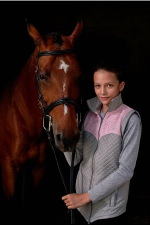 Жилет для верховой езды с водонепроницаемыми вставками - MAJESTY KIDS, одежда для конного спорта