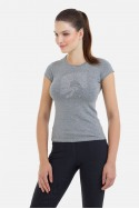 Riding Cotton Top Short Sleeve - JUMPING STAR, Equestrian Apparel