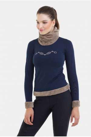 182-105201 Riding Sweater Cosy - CHAMPIONSHIP, Equestrian Apparel