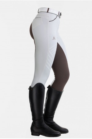 Riding Show Breeches ROYAL SPORT - Full Seat Silicon, Technical Equestrian Apparel