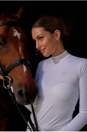 Riding Show Shirt TIARA - Long Sleeve, Technical Equestrian Apparel