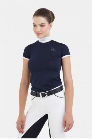 Riding Show Shirt TIARA - Short Sleeve, Technical Equestrian Apparel