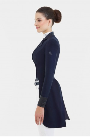 Dressage Tail Coat LUX - SECOND SKIN TECHNOLOGY, Softshell, Technical Equestrian Apparel