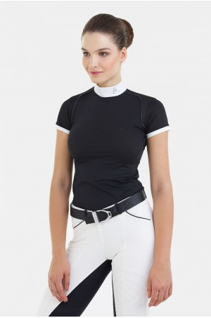 Riding Show Shirt LUX - Short Sleeve, Technical Equestrian Apparel