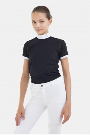 Riding Show Shirt LUX - Short Sleeve, Technical Equestrian Apparel