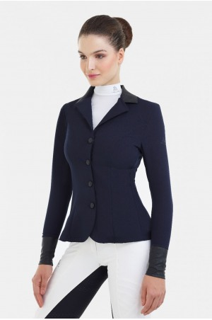 182-303411 Riding Show Jacket LUX - SECOND SKIN TECHNOLOGY, Softshell, Technical Equestrian Apparel