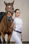 Riding Show Shirt HIGH STYLE - Short Sleeve, Technical Equestrian Apparel