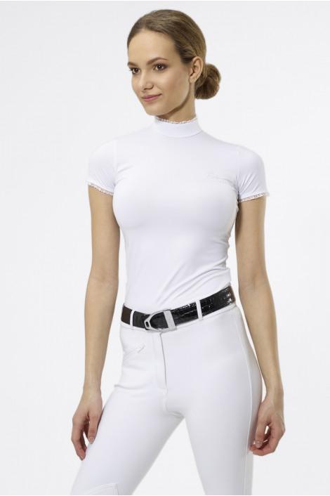 Riding Show Shirt PRINCESS - Short Sleeve, Technical Equestrian Apparel