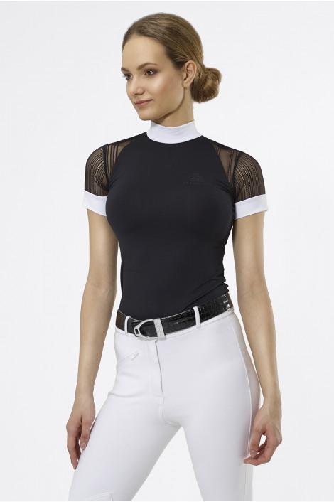Riding Show Shirt CONTESSA - Short Sleeve, Technical Equestrian Apparel