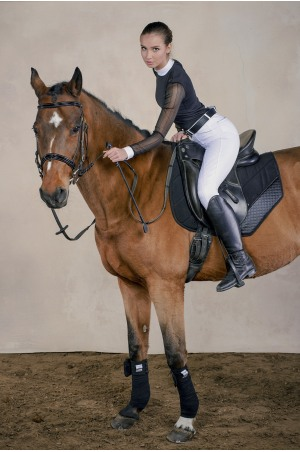 Riding Show Shirt CONTESSA - Long Sleeve, Technical Equestrian Apparel