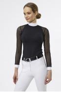 Riding Show Shirt CONTESSA - Long Sleeve, Technical Equestrian Apparel