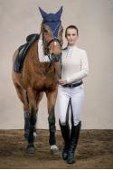 Riding Show Shirt FATALITY - Long Sleeve, Technical Equestrian Apparel