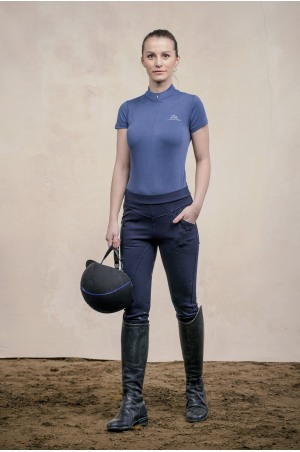 Riding Top Short Sleeve - BELLISSIMA Equestrian Apparel