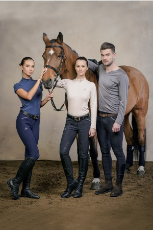 Riding Top Long Sleeve - BELLISSIMA Equestrian Apparel