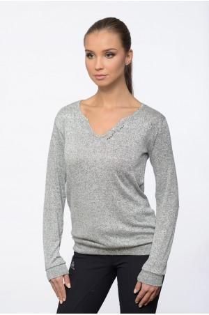 Riding Viscose Jersey Loose Sweater - CLASS, Equestrian Apparel