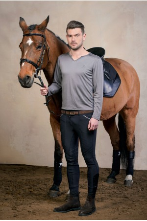 Riding Top Long Sleeve - MEN STYLE Equestrian Apparel