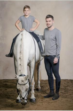 Riding Top Long Sleeve - GRANDEUR MEN Equestrian Apparel