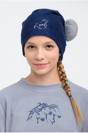 Riding Pom-Pom Hats - GLAMOUR, Technical Equestrian Apparel