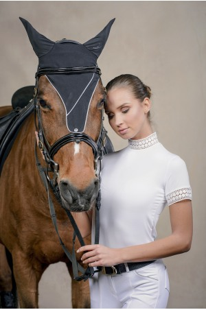 Riding Show Shirt - BELLA LACE Short Sleeve, Technical