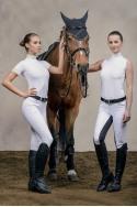 Riding Show Shirt - BELLA LACE Sleeveless, Technical
