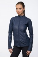 Riding Faux Leather Coat - JAX Technical Equestrian Apparel