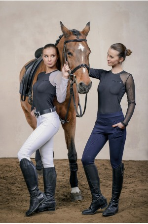 Riding Shirt ALLORE - Long Sleeve, Technical Equestrian Apparel