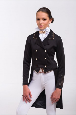 Dressage Tailcoat ROSE GOLD - SECOND SKIN TECHNOLOGY. Softshell. Technical Equestrian Apparel