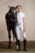 Riding Show Shirt ROSE GOLD - Short Sleeve. Technical Equestrian Apparel