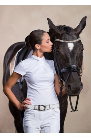 Riding Show Shirt CHIC - Short Sleeve. Technical Equestrian Apparel