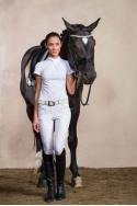 Riding Show Shirt CHIC - Short Sleeve. Technical Equestrian Apparel