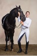 Riding Show Shirt CHIC - Long Sleeve. Technical Equestrian Apparel