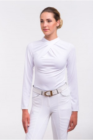 519-106132 Riding Show Shirt CHIC - Long Sleeve. Technical Equestrian Apparel