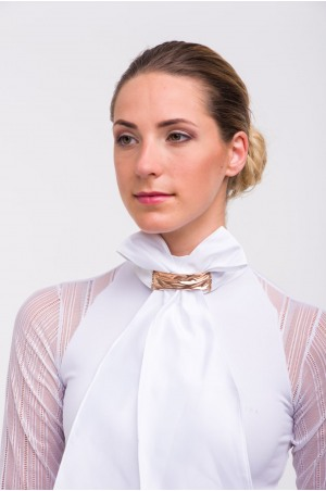 Riding Stock Tie - ROSE GOLD. Equestrian Accessories