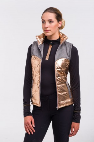 Riding Vest Waterproof - ROSE GOLD
