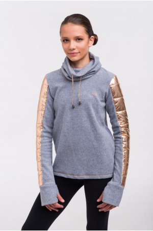 Riding Sweater - ROSE GOLD Technical Equestrian Apparel