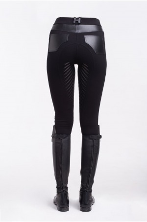 Riding Technical Leggings ROYAL PLEASURE II. - Full Seat Silicon. Technical Equestrian Apparel