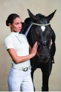 Riding Show Shirt FATALITY - Short Sleeve, Technical Equestrian Apparel